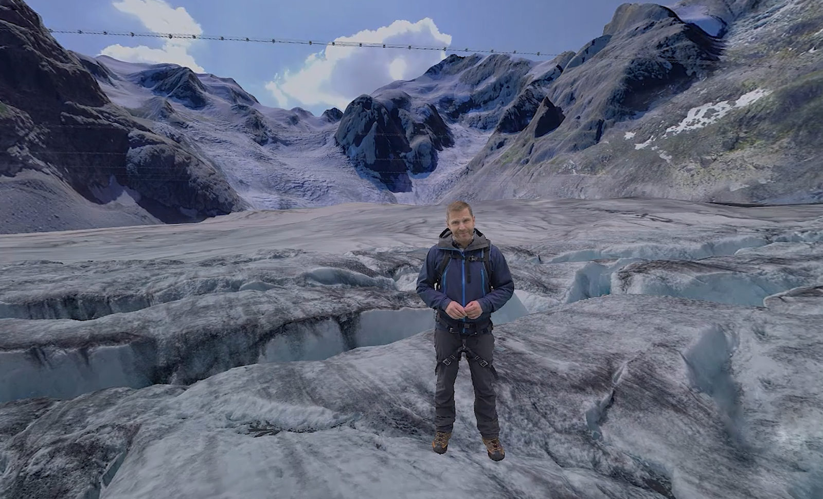 Dem Gletscher so nah