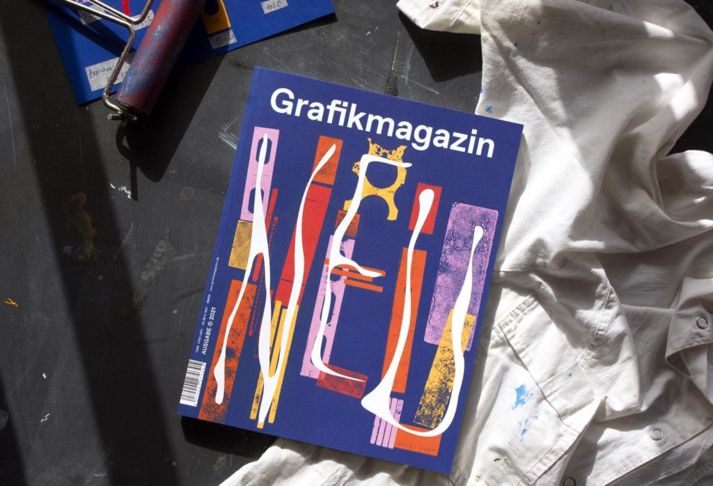 Grafikmagazin 01.21 Cover, Design Dafi Kühne