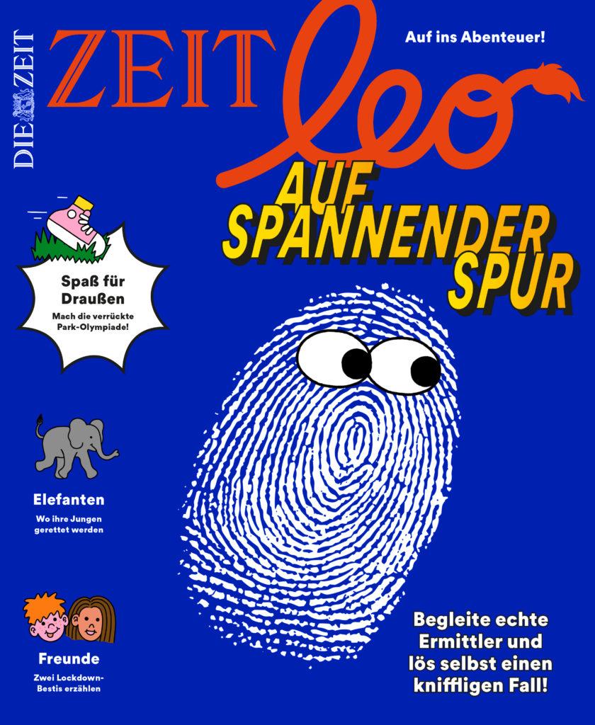 Cover. Relaunch Zeit Leo Interview mit Art Direktorin Kai Schmitzer