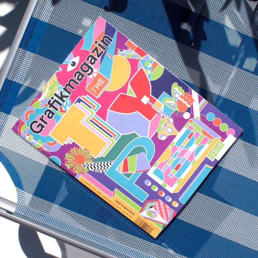 Grafikmagazin 04.21 Schwerpunkt Typografie